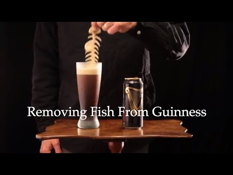 Removing Fish Parts From Guinness Stout