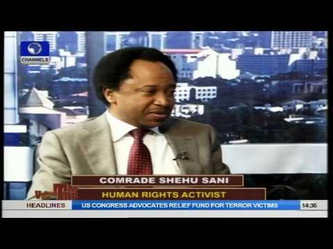 Shehu Sani Speaks On Dialogue With Boko Haram. Pt1