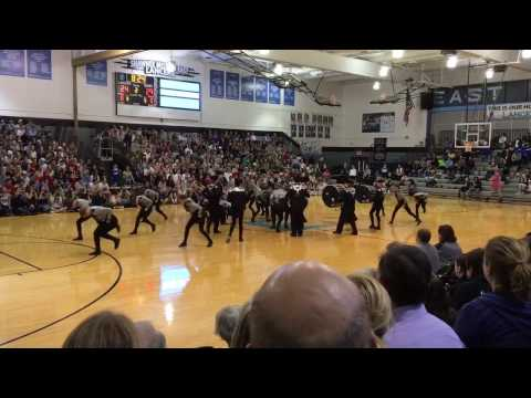 Shawnee Mission East Lancer Dancers and Drumline