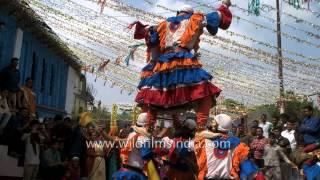 Choliya dancers performing at Kumaoni marriage function