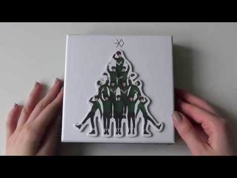 Unboxing EXO 엑소 Special Winter Album Miracles in December (Korean Version)