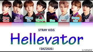 "Stray Kids ""HELLEVATOR"" (SKZ2020) colorcodedlyrics [Han-Rom-Eng]"