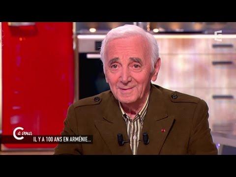 Charles Aznavour sur ses racines arméniennes - C à vous - 05/05/2015
