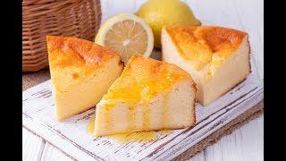Лимонный творожник