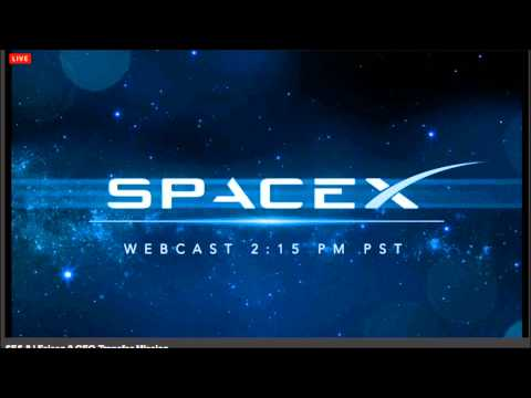 SpaceX Webcast Music 2013.11.28
