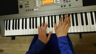 Как быстро научиться играть Собачий вальс на синтезаторе не зная нот. Урок 8. Yamaha PSR E 353