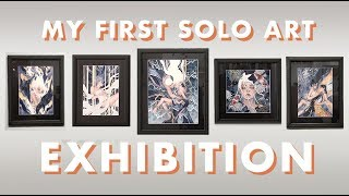 Скачать LIFE OF AN ARTIST I Had My First Art Exhibition Ep 4