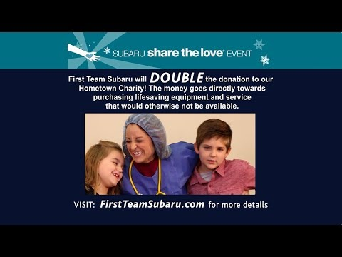 Subaru Share Love 2017 - First Team Subaru, Roanoke, VA