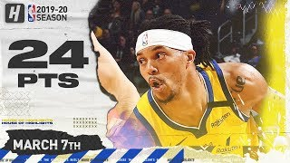 Damion Lee 24 Points Full Highlights | 76ers vs Warriors | March 7, 2020
