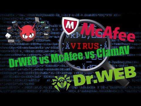Linux - DrWeb vs McAfee vs ClamAV. Сравнение антивирусов