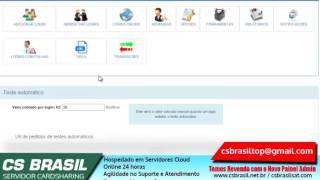 Revenda Servidor CS (Cardsharing) Painel CSPADM Novo - Revendedor - Menores Preços - CS Brasil
