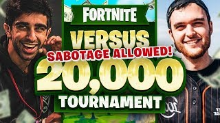 VIKK & ERYC vs HIGHDISTORTION & NOAHJ456 in Fortnite $20,000 Tournament