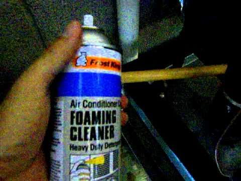 Evaporator Coil Amp Condensation Tray Cleaning Youtube