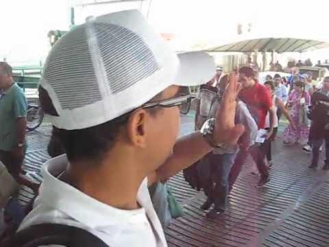 Giramundos no Ferry Boat em Santa Catarina - www.giramundos.com