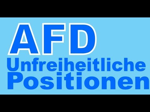 AFD: Unfreiheitliche Positionen im Bundestag - gegen Hanf - gegen Selbstbestimmung