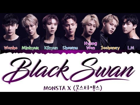 MONSTA X- Black Swan [日本語/歌詞 Kan|Rom|Eng Color Coded Lyrics]
