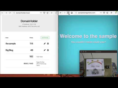 Domain Holding with Elixir, Nerves and LiveView