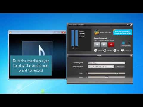 How to Record Audio from Computer with Free Sound Recorder