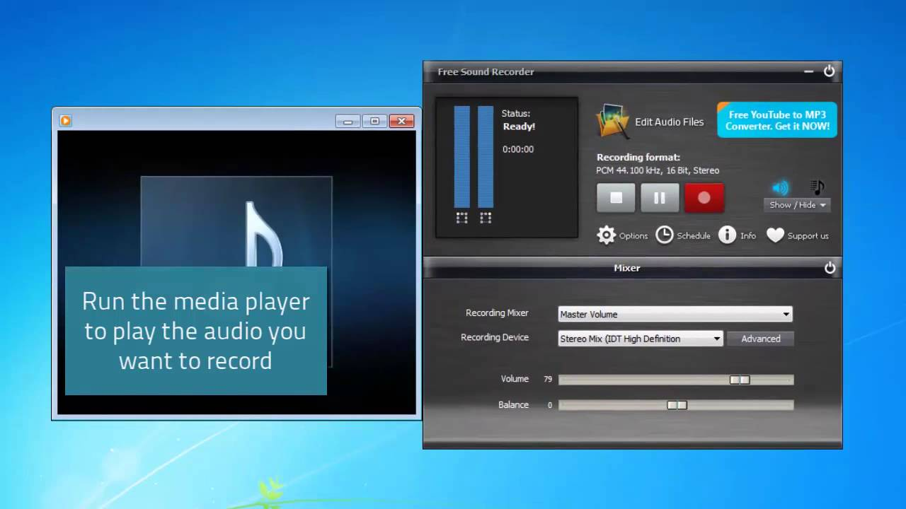 Top 3 Sound Recorder Software on PC | Free and Easy to Use | iPhone