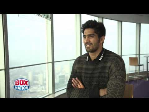 """Vijender Singh dreams of World Title shot at Indian cricket ground - """"It will be huge!"""""""