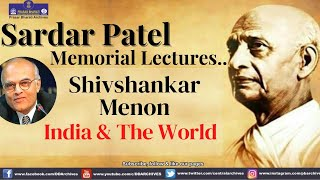 2013 - Shivshankar Menon's Speech on India \u0026 The World