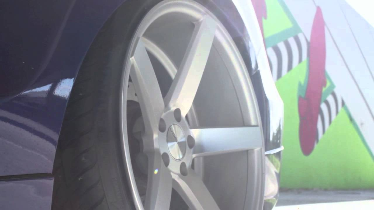 Teaser Honda Accord On 20 Quot Vossen Vvs Cv3 Concave Wheels