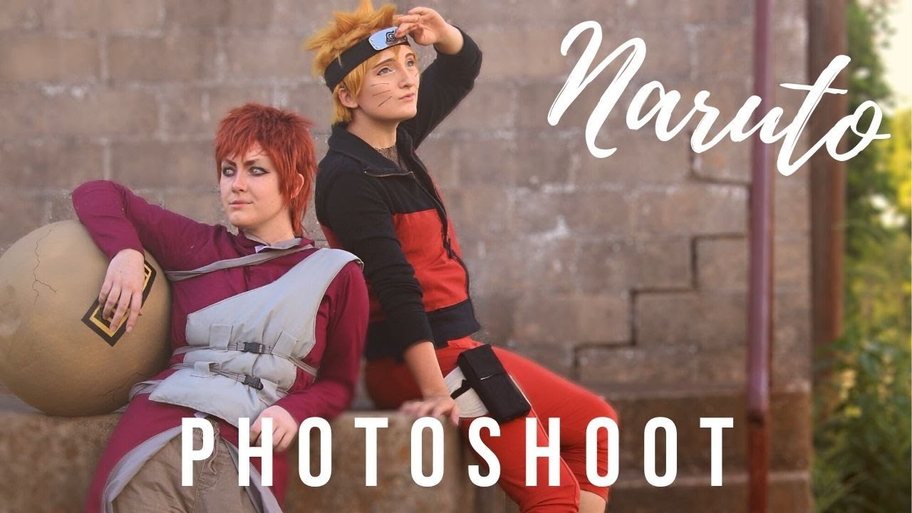 Naruto Photoshoot | BTS