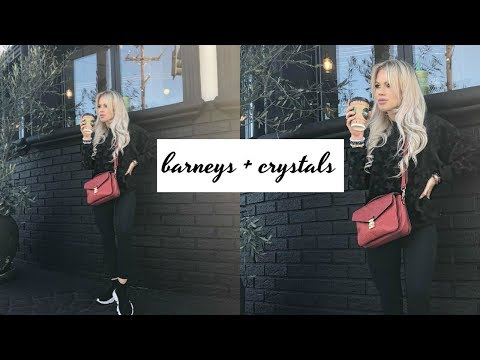 Barneys with Momma Bun + Iconic Fragrance Haul + Crystal Bracelet How To's | DailyPolina