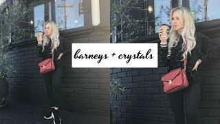 Barneys with Momma Bun + Iconic Fragrance Haul + Crystal Bracelet How To