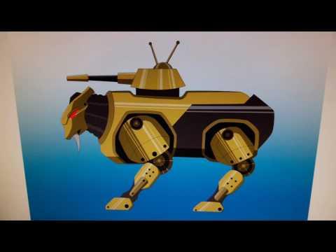 Hard Wired Revolution animated work pt2 @Allknightz