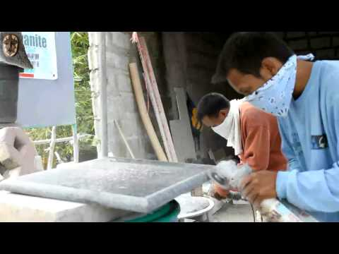 Marble maker San Fernando Pampanga / Philippines