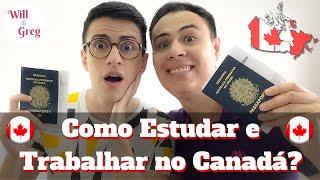 Will e Greg - Como sair do Brasil para estudar e trabalhar no Canadá?