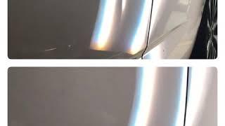 Aluminum Door Paintless Dent Removal