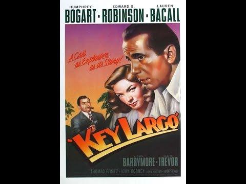 Key Largo:  Radio Play -  Edward G. Robinson and Claire Trevor - 1949