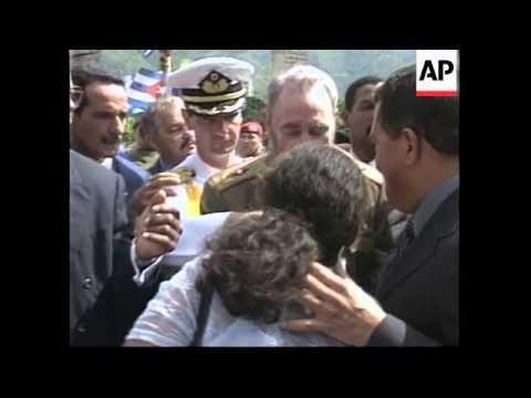 VENEZUELA: CUBAN LEADER FIDEL CASTRO VISIT (2)