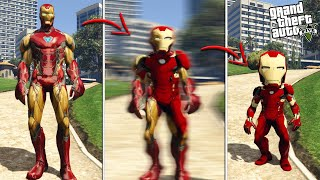 IRON MAN becomes MINI IRON MAN (GTA 5 Mods)