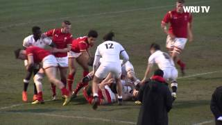 Wales U18 v England U18: Match highlights