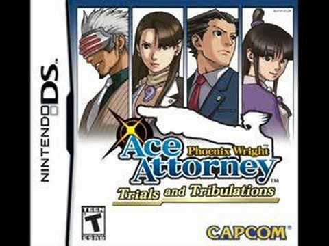 Phoenix Wright T&T ~ Distant Traces of Beauty DS