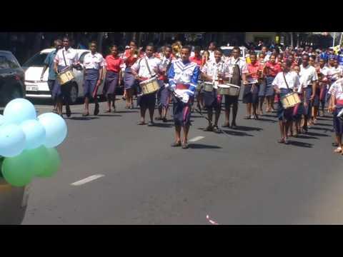Fiji St Thomas High School drummer boy..