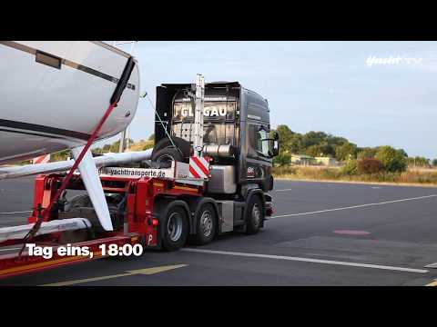 Auf fünf Achsen durch Europa - Mit dem Schwertransport nach Barcelona