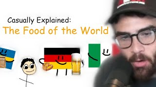 Hasanabi Reacts to Casually Explained: The Food of the World