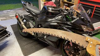 Wrench With Me LIVE! - 2019 ZX6R Stunt Bike Build