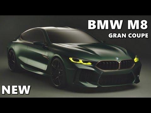 0 - BMW stellt in Genf den M8 Gran Coupé vor