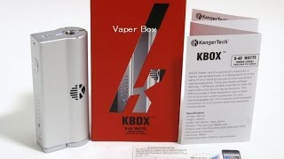 Kanger KBOX 電子タバコ BOX MOD(Kanger KBOXの紹介動画です。購入はコチラ http://www.thevaperbox.com/shopdetail/000000000012/ 動画の後半でアトマイザーをNautilus Mini、Nautilus、eGo ..., 2015-02-25T06:30:52.000Z)