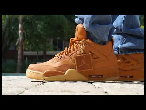 "wholesale 100% high quality fantastic savings NIKE AIR JORDAN 4 RETRO PREMIUM ""Ginger"""