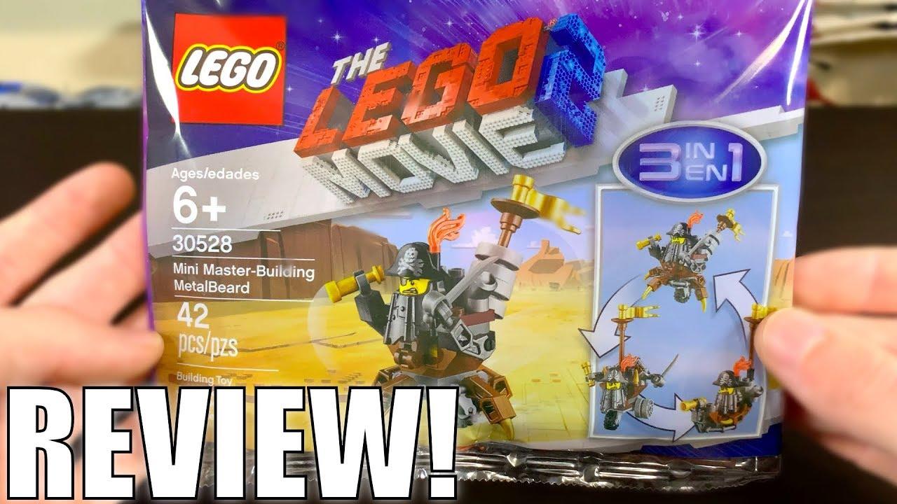 LEGO Movie 2 Mini Master-Building MetalBeard 2019 Set Review! Set 30528