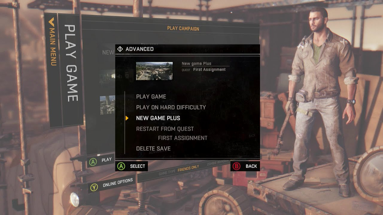 how to change voice language in dying light