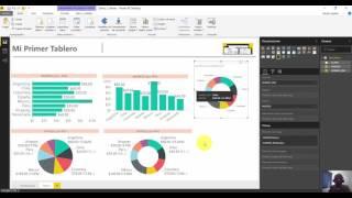 Agrega una grafica de anillo a tu informe de Power BI Desktop
