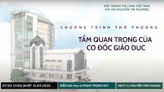 HTTL NGUYỄN TRI PHƯƠNG - Chương trình thờ phượng Chúa - 13/09/2020
