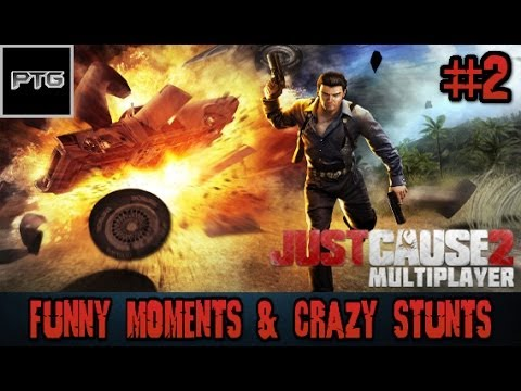 [2] Just Cause 2: Multiplayer Mod | Funny Moments & Crazy ...